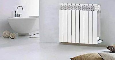 radiador de auminio