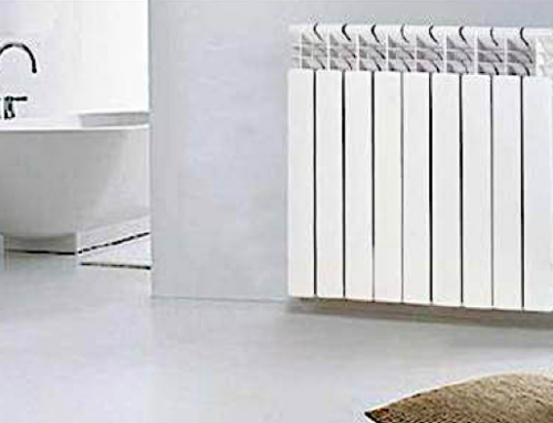 Tipos de radiadores de agua