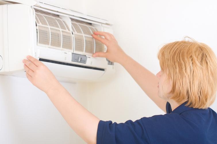 limipeza filtro aire acondicionado