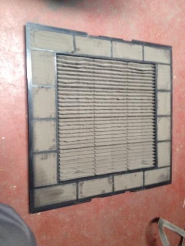 filtros sucios aire acondicionado