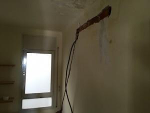 pres-instalación aire acondicionado