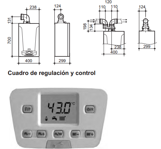 Especificaciones Caldera Baxi Compact Platinum ECO